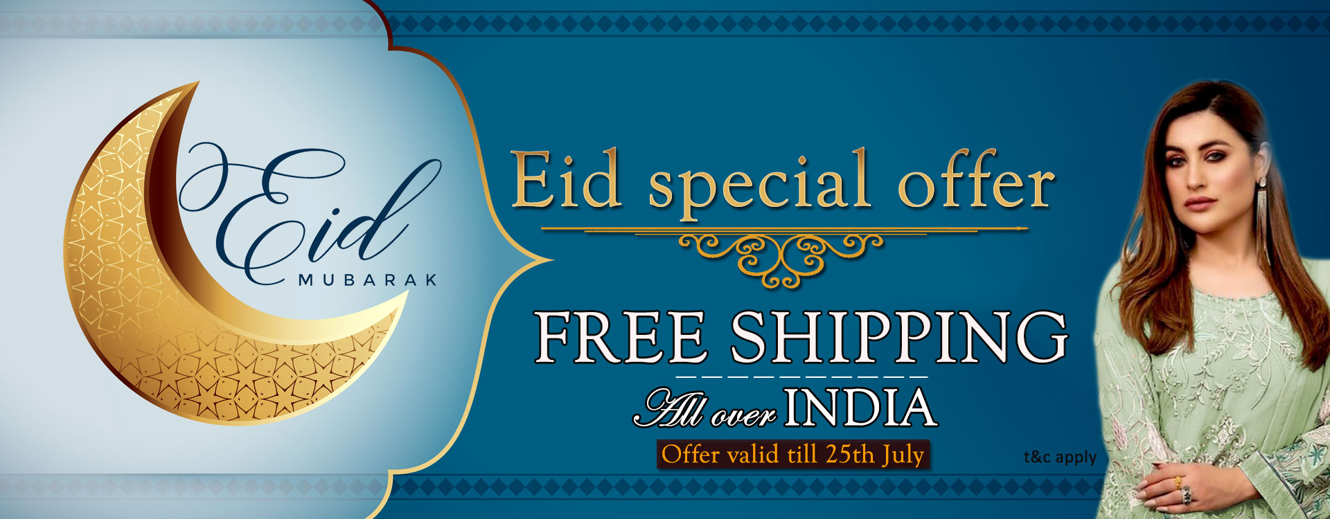 eid special offer free shipping all over india